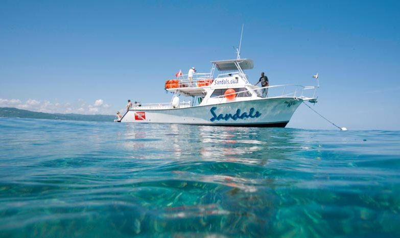Sandals Negril Dive Boat