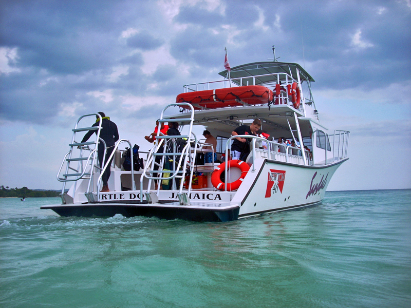 Sandals Negril Scuba Dive Boat
