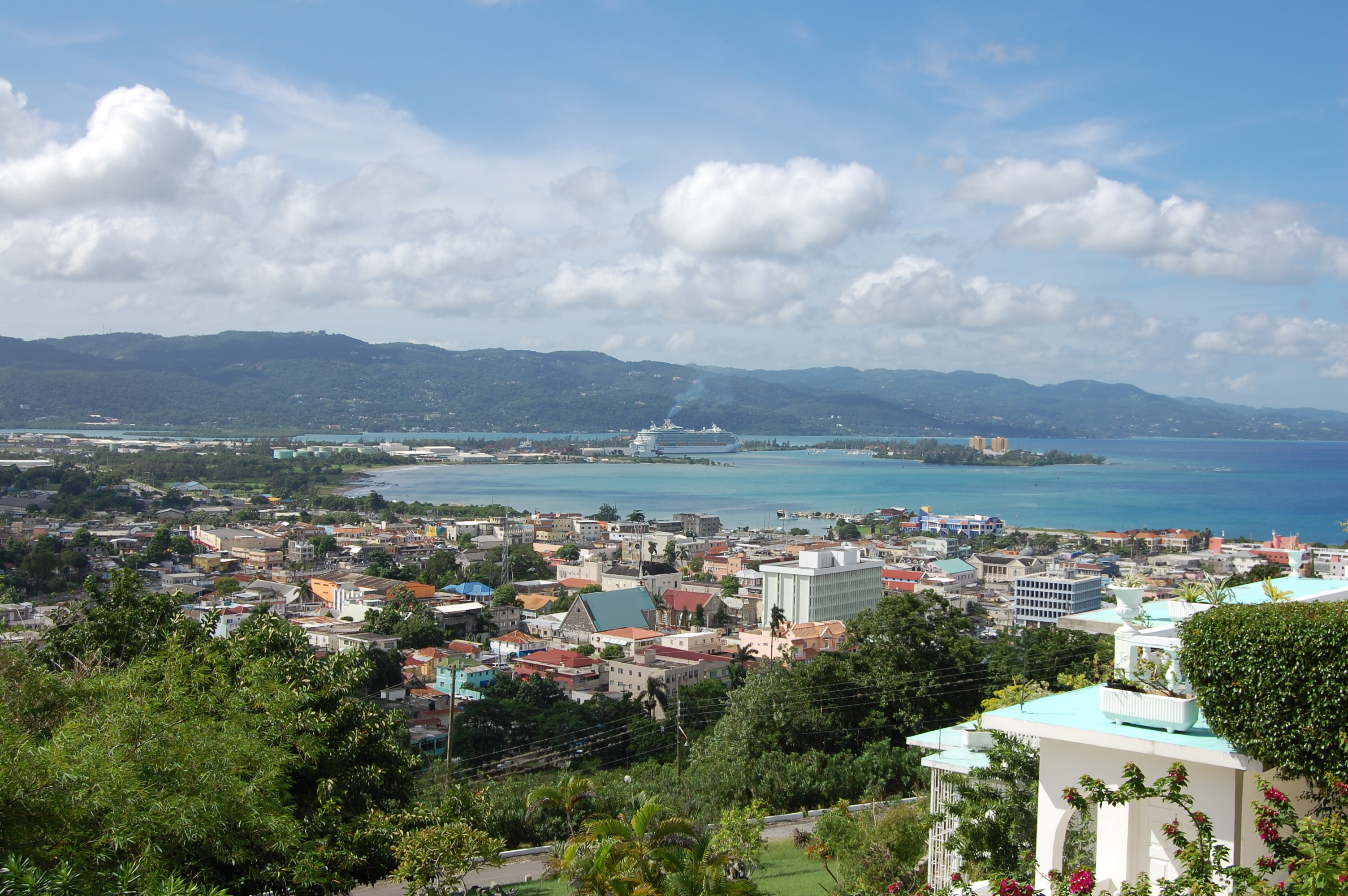 View of Montego Bay, Jamaica