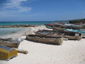 Fishing Boats Near Runaway Bay, Jamaica