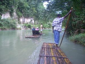 River Rafting the Martha Brae in Jamaica