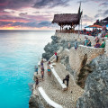 Spectacular Sunsets at Rick's Cafe in Jamaica