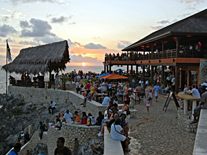 Go to Rick's Cafe Jamaica for Sunset